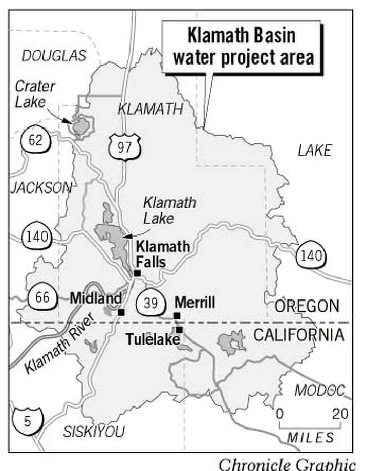 Klamath Basin. Chronicle Graphic