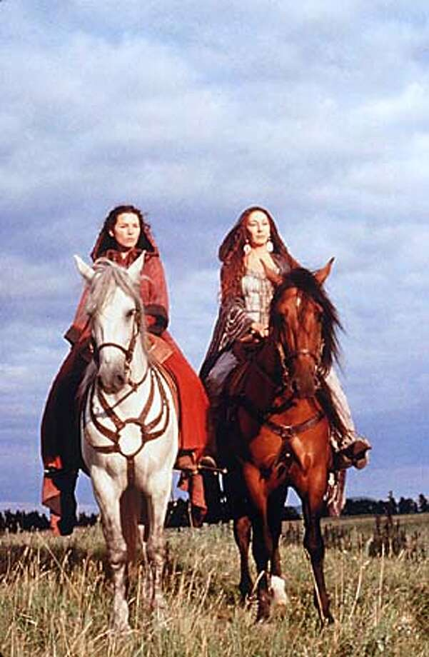 """Julianna Margulies and Anjelica Huston bring a feminist touch to Camelot in """"The Mists of Avalon."""""""