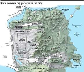 Weather As Varied As The People Land And Fog Build Summer Microclimates Visualize the weather in san francisco's many microclimates or zoom out to plan your day around the bay area. land and fog build summer microclimates