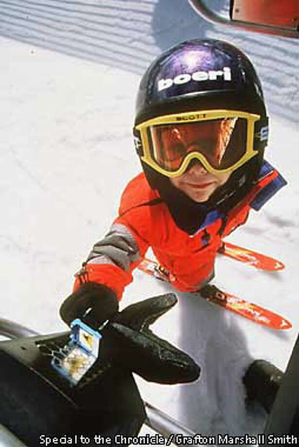 The ski industry hopes to make lifelong snow enthusiasts out of young people such as this boy at Northstar at Tahoe. Special to the Chronicle by Grafton Marshall Smith