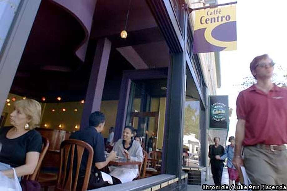 Caffe Centro Restaurant in Berkeley opened up for dinner two months ago with chef Jean Pierre Moulle, formerly of Chez panisse as the sometimes chef.  (JULIE PLASENCIA/SAN FRANCISCO CHRONICLE) Photo: JULIE ANN PLASENCIA