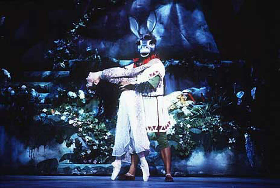 Karen Gabay and Gonzalo Espinoza in ``A Midsummer Night's Dream.''