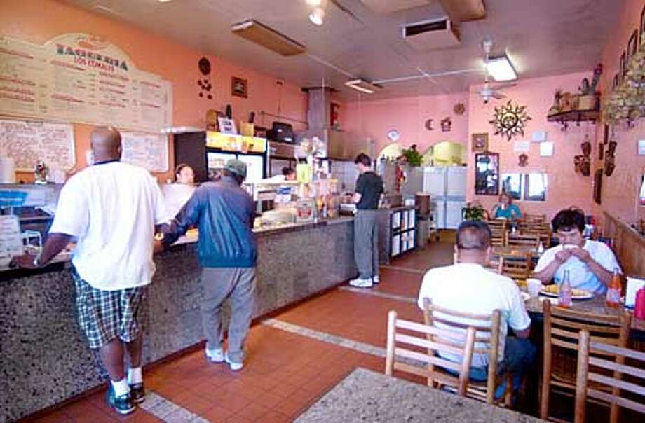 Los Comales taqueria on MacArthur Blvd. in the Dimond district of Oakland is a local neighborhood favorite.  PAUL CHINN/S.F. CHRONICLE Photo: PAUL CHINN