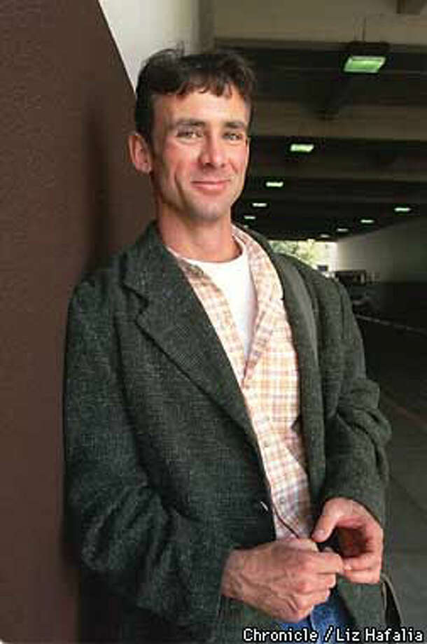 Chuck Palahniuk's book ``Fight Club'' has just been made into a movie starring Brad Pitt and Edward Norton. Chronicle Photo by Liz Hafalia