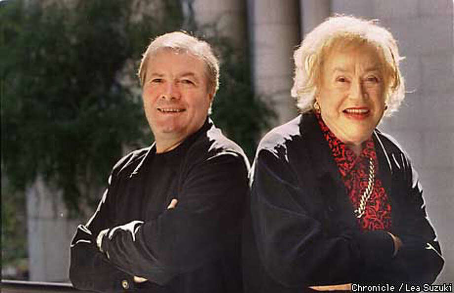 Jacques Pepin and Julia Child, two grand french chefs. Chronicle Photo by Lea Suzuki