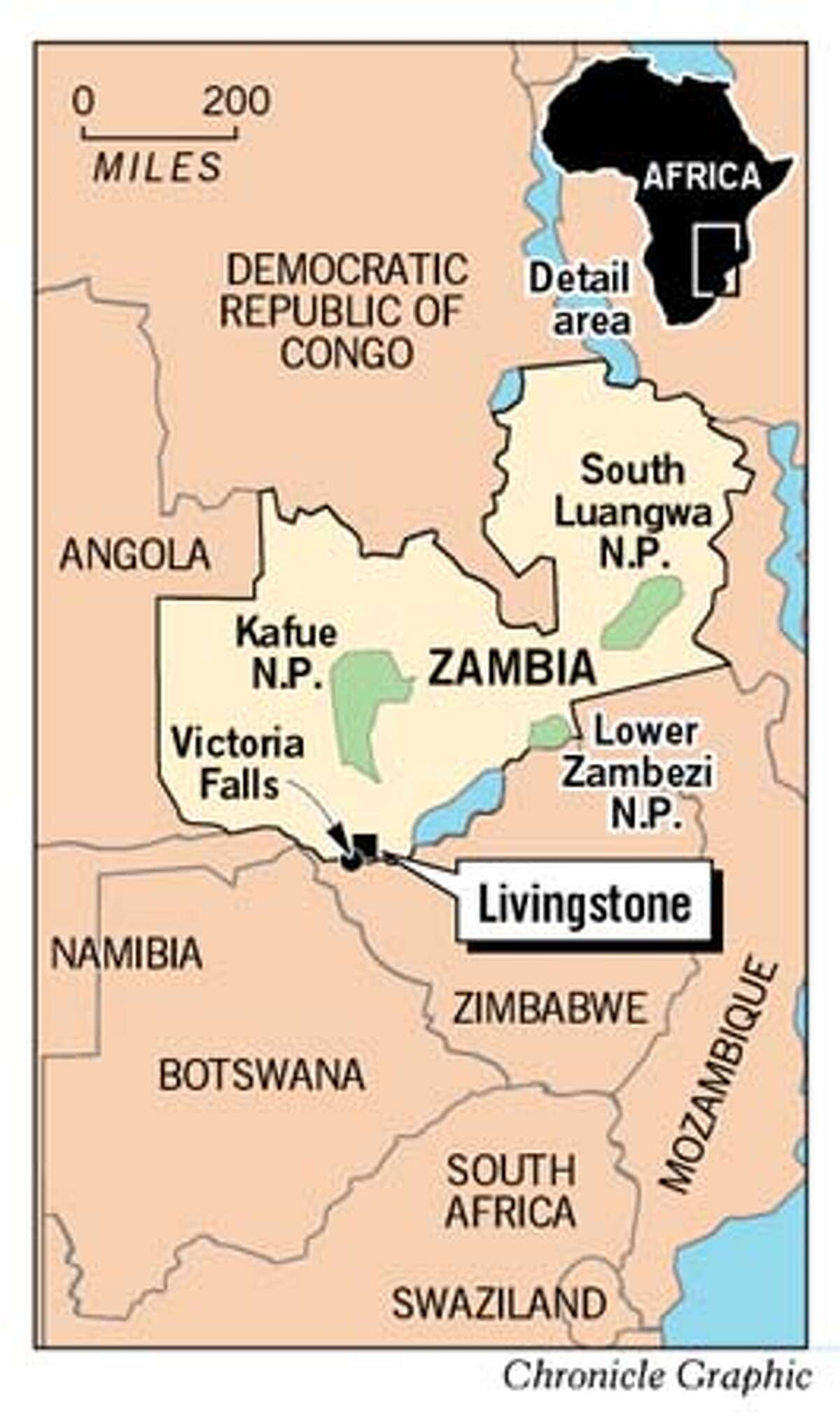 Zambia. Chronicle Graphic