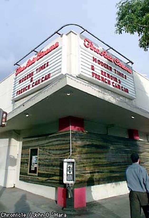 Berkeley, Fine Art Theater 2451 Shattuck Ave.  Exterior of the Theater Photo/John O'Hara Photo: JOHN O'HARA