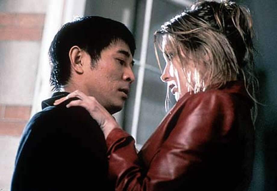 "In ""Kiss of the Dragon,'' Jet Li plays a Chinese government agent who is double-crossed in Paris; Bridget Fonda portrays a hooker who needs his help."