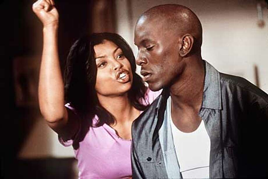 "Yvette (Taraji P. Henson) is Jody's (Tyrese Gibson) girlfriend, as well as one of his ""baby mamas"" in the Columbia Pictures presentation, Baby Boy. Photo: HANDOUT"