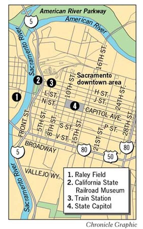 Sacramento. Chronicle Graphic