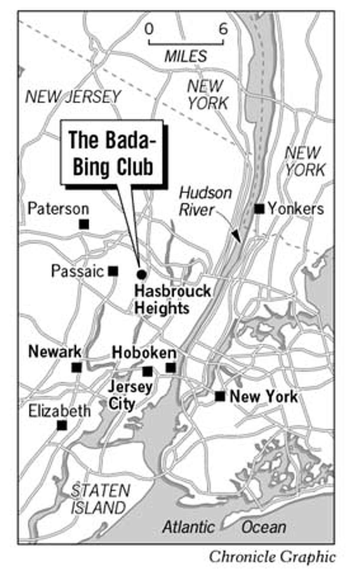 The Bada-Bing Club. Chronicle Graphic