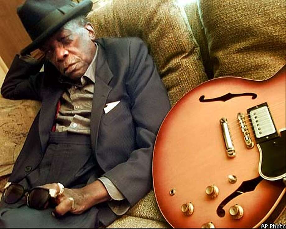 "John Lee Hooker was described as ""so totally authentic that it was mesmerizing."" Associated Press File Photo"