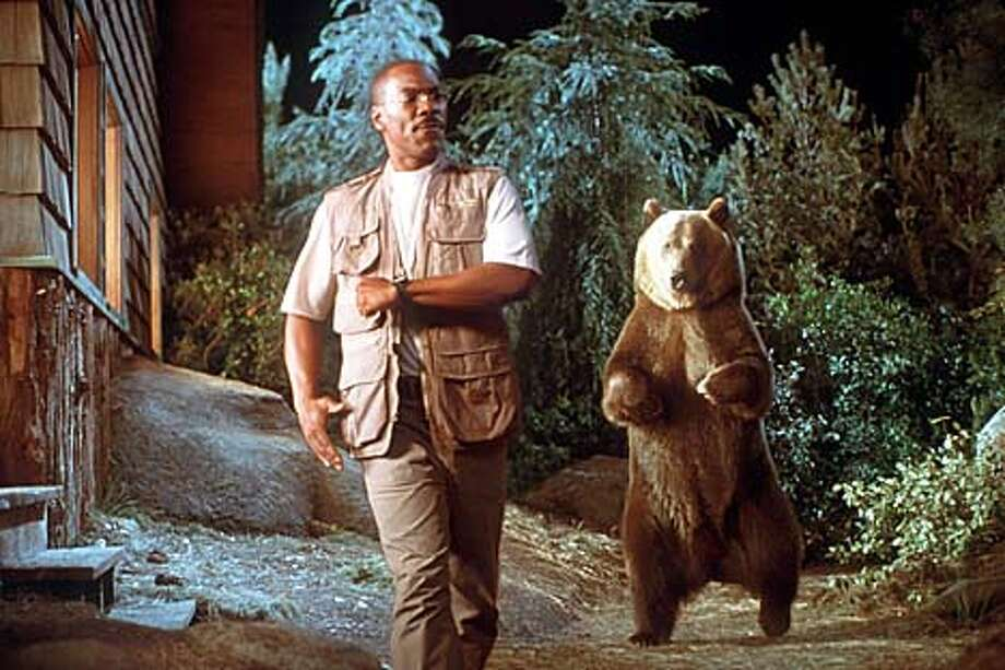 "Eddie Murphy plays second fiddle to a bear named Archie in ""Dr. Dolittle 2."""