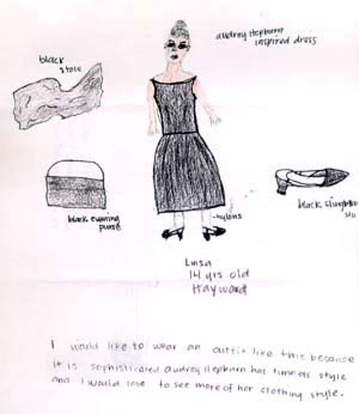 Original artwork by Louisa, 14, Hayward