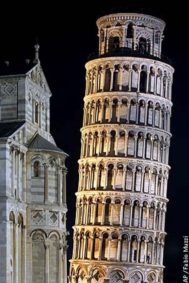 A view of the leaning tower of Pisa the day before a ceremony  to reopen the attraction. Associated Press photo by Fabio Muzzi