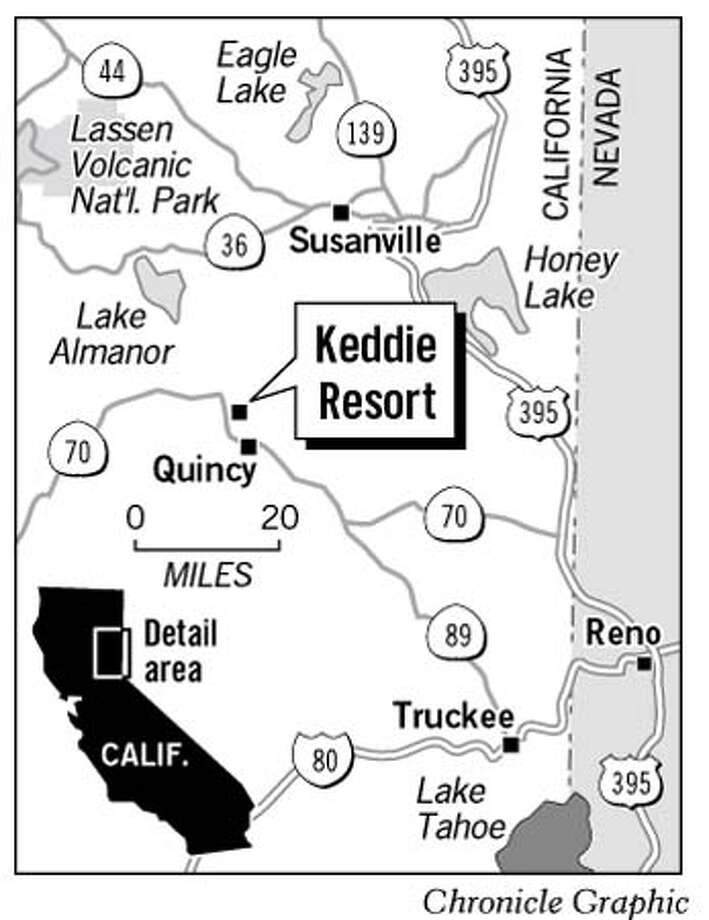 Keddie Resort. Chronicle Graphic