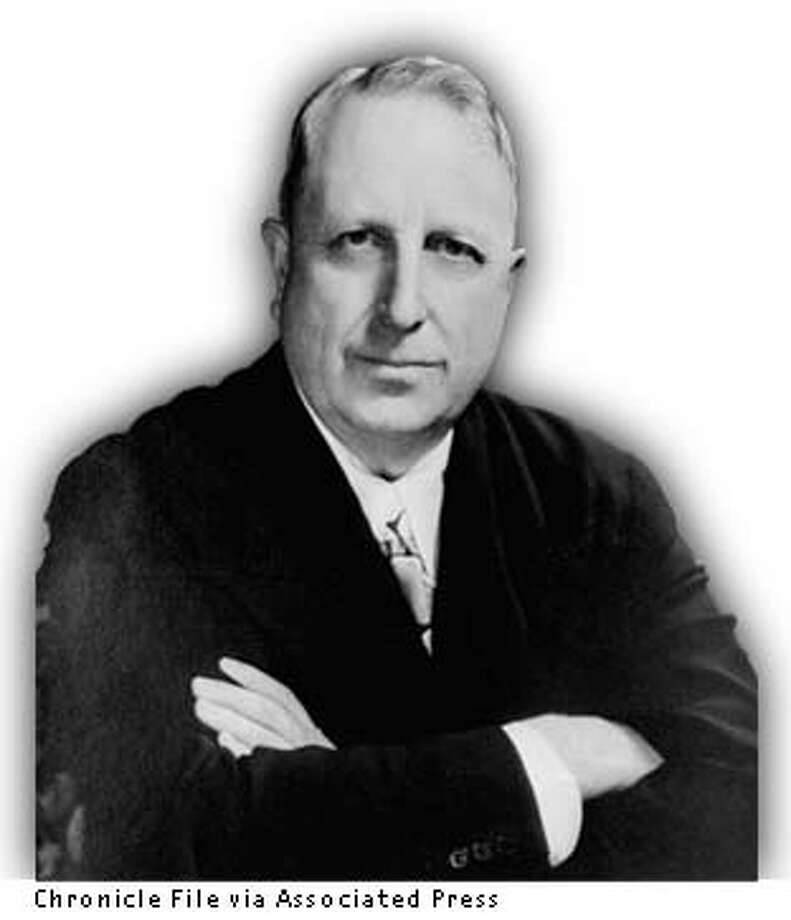 HEARST WM.SR/C/13APR99/MN/AP--A 1935 portrait of William Randolph Hearst, noted American publisher. (AP Photo)