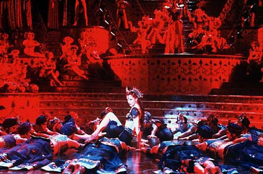 "Elaborate costumes and dance numbers are part of the over-the-top fun of Baz Luhrmann's ""Moulin Rouge,'' starring Nicole Kidman."