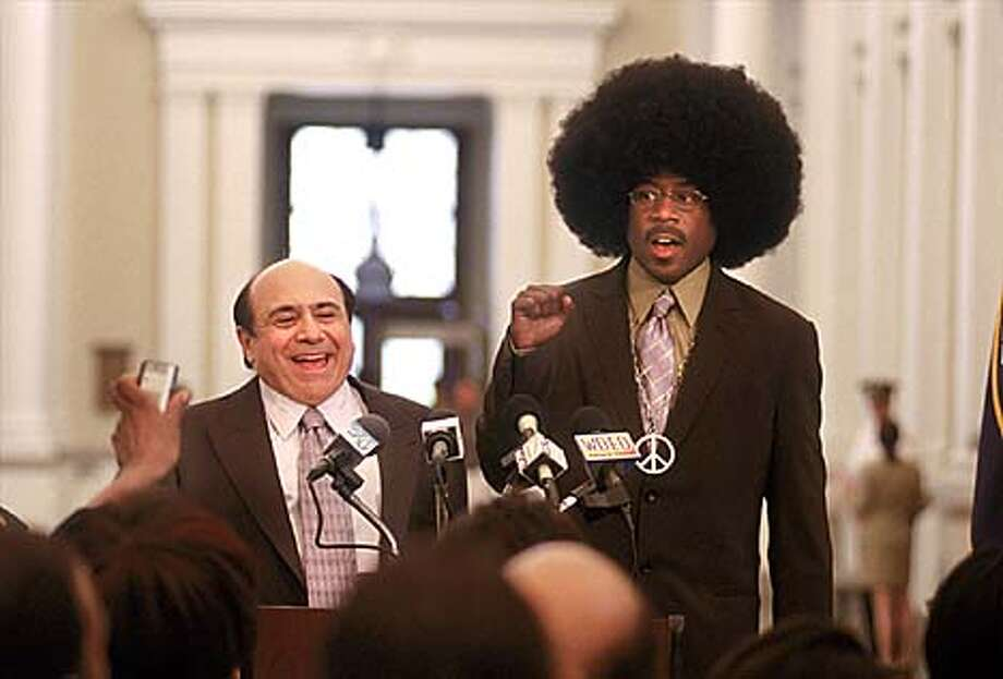 "A billionaire (Danny DeVito) and a thief (Martin Lawrence) try to outdo each other in ""What's the Worst That Could Happen?'' Photo courtesy of Eric Lee"