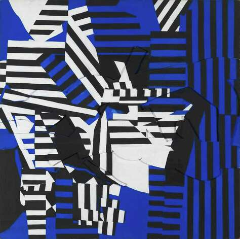 Unequivocably Blue, 1967 Acrylic on plywood, mounted to Masonite 48 x 47 7/8 x 1 ½? Gift of the Artist in Memory of Simon M. Seley, Herbert F. Johnson Museum of Art, Cornell University Photograph by John Schweikert