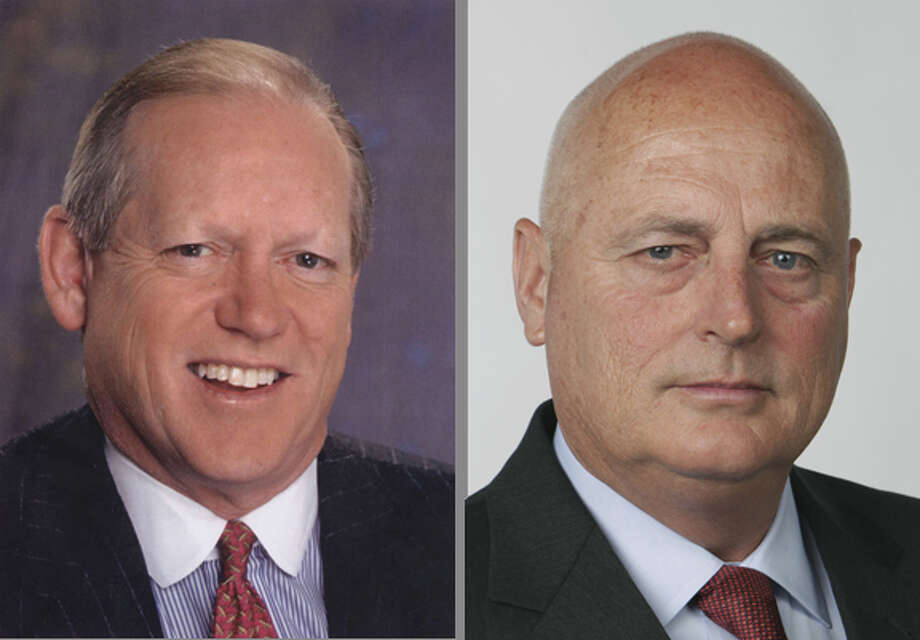 Jack Sweeney, left; Thomas A. Stephenson, right. Photo: Hearst Corp.