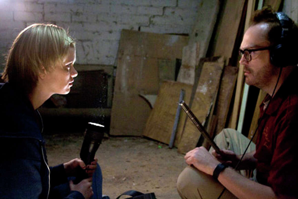 Sara Paxton as Claire and Pat Healy as Luke in