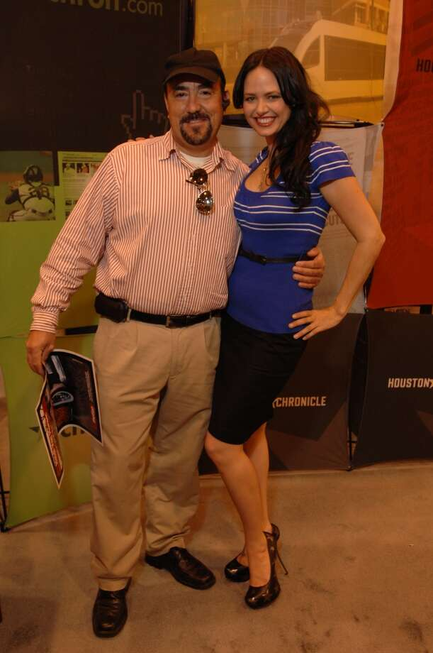 Heidi Van Horne - 2012 Houston Auto Show Photo: Jerry Powers