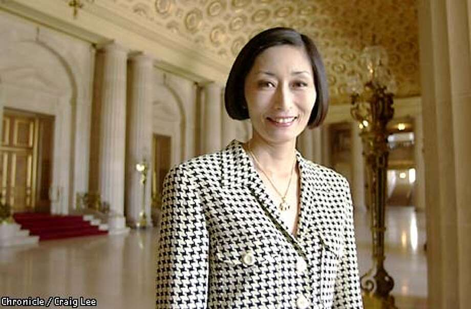Photo of Yurie Pascarella, Black and White Chairwoman.  Photo by Craig Lee/San Francisco Chronicle Photo: CRAIG LEE
