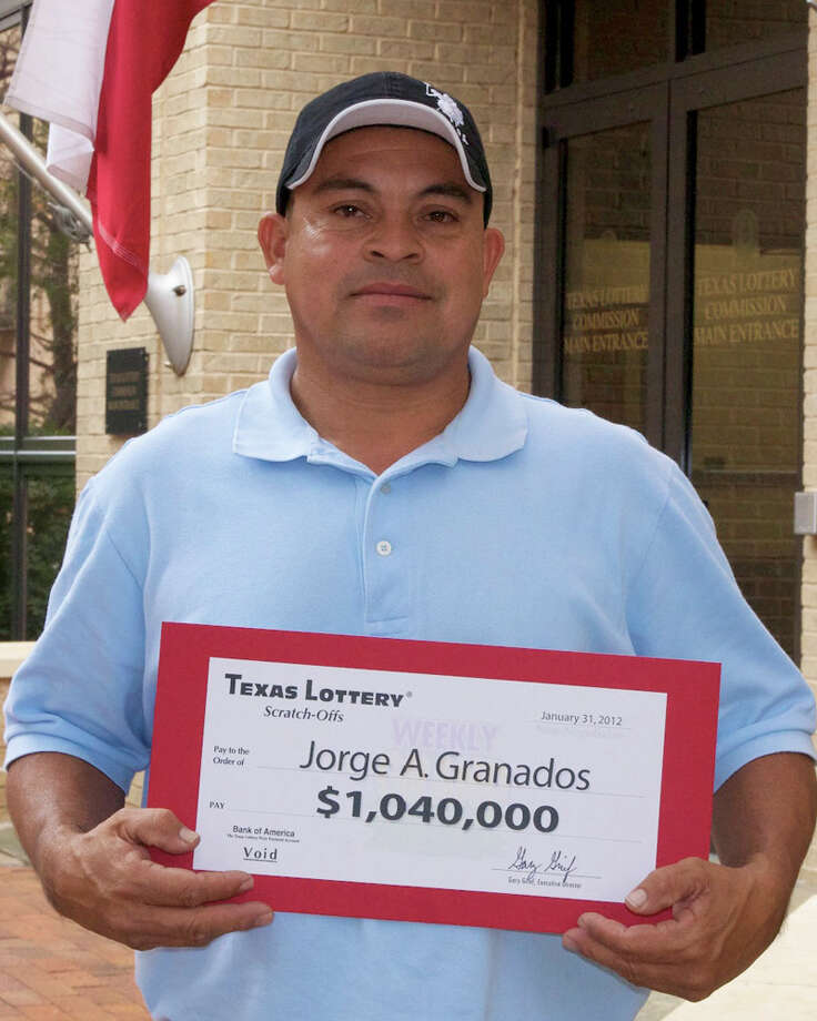 Jorge Granados won $1,000 a week in the Texas Lottery weekly scratch-off game. Photo: Texas Lottery Commission