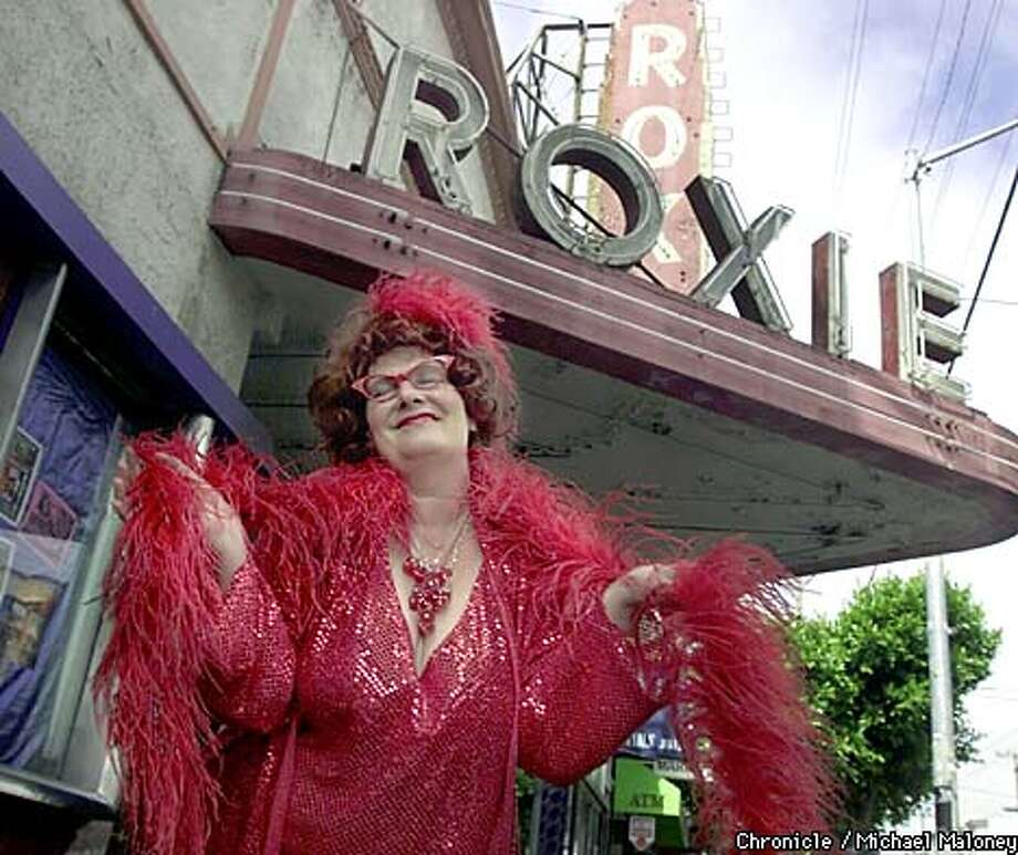 """Scarlot Harlot"" is the director of the second San Francisco Sex Worker Film Festival. Chronicle photo by Michael Maloney"
