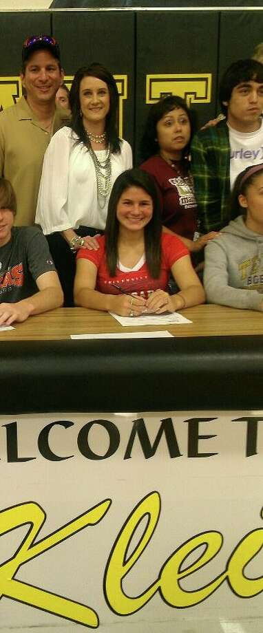 Klein Oak High School's Gabby Rodriguez has signed to play soccer at the University of Houston.