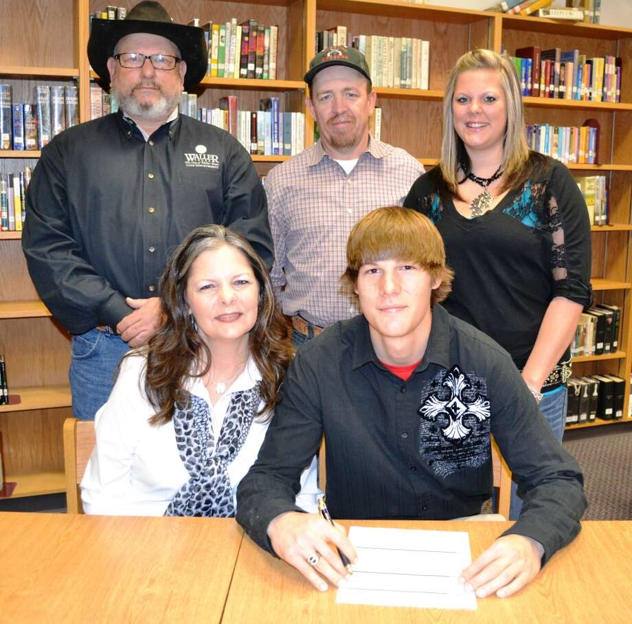 Waller High School linebacker Colton Robinson will play football at Cisco Junior College.