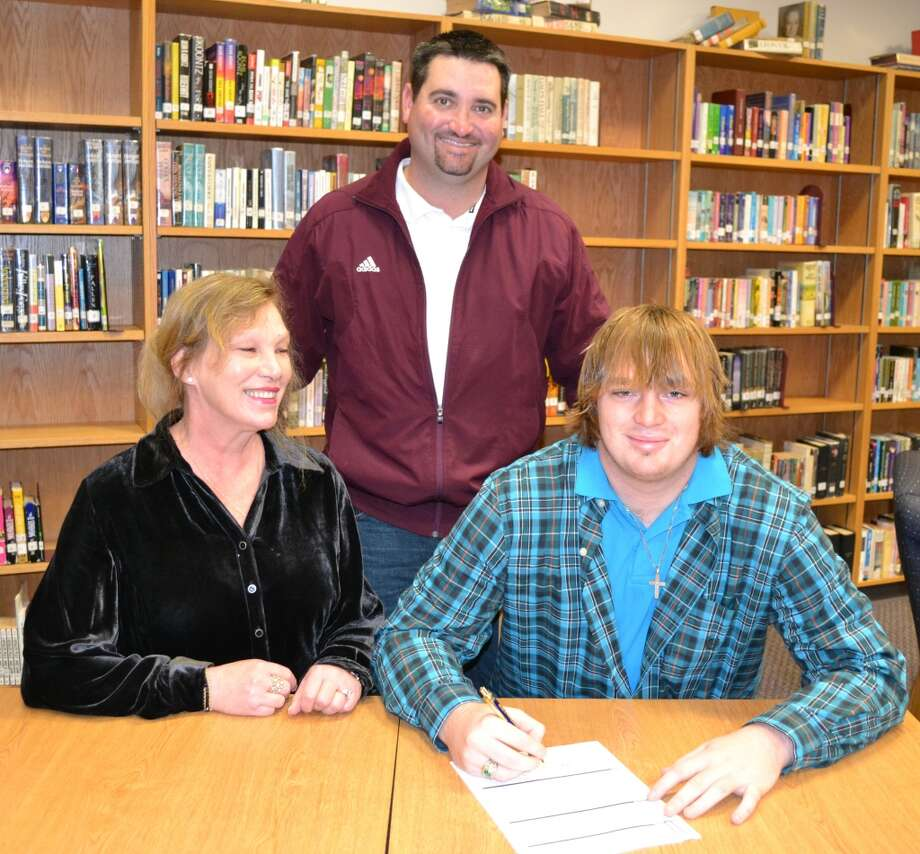 Waller High School offensive lineman Matthew Leviner will play football at Cisco Junior College.