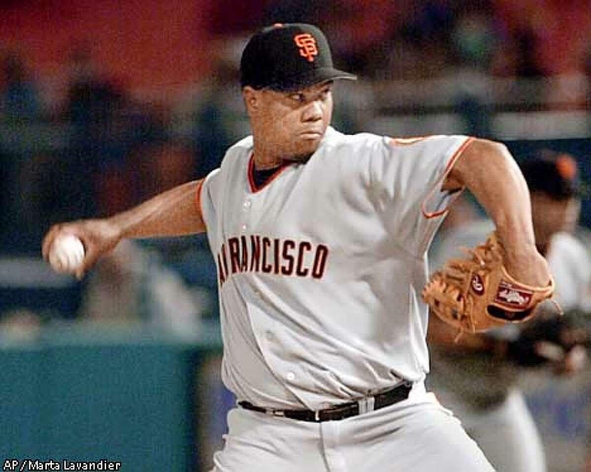 Giants, Livan handle Marlins \/ \u0026#39;Broken\u0026#39; Hernandez excels ...