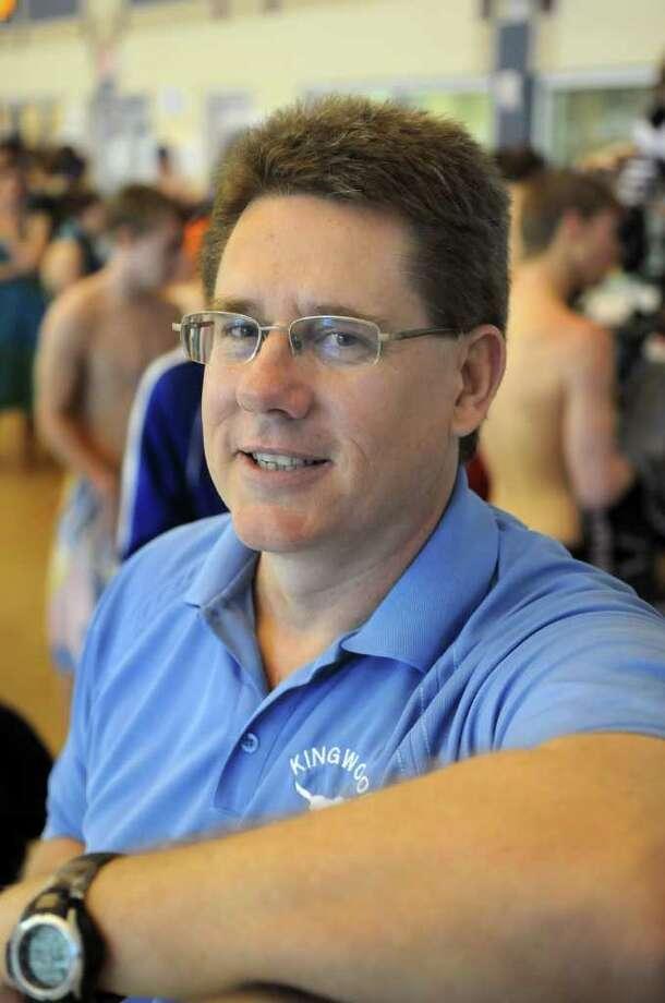 Kingwood Head Swim Coach Russell Duin Photo: Jerry Baker