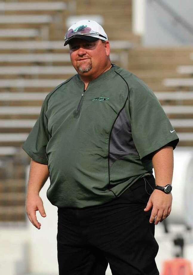 Pasadena Memorial head coach John Snelson Photo: Kirk Sides / Freelance