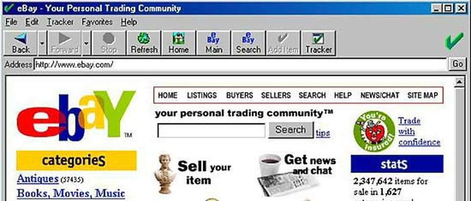 Ebay Frowns On New Online Auction Browser Sfgate