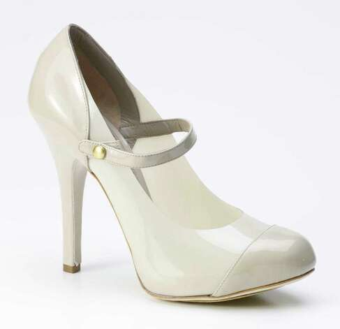 The runways featured white shoes, such as these from Dolce & Gabbana. Kohl's took inspiration from their accents. Photo: Dolce & Gabbana