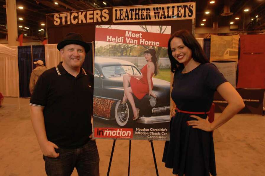 Heidi Van Horne - 2012 Houston Auto Show |
