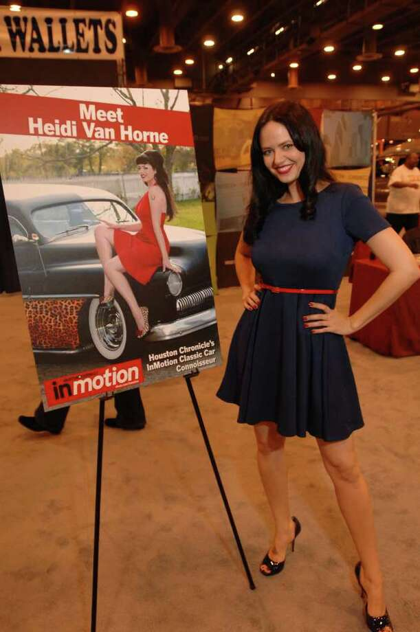 Heidi Van Horne - 2012 Houston Auto Show | Photo: Jerry Powers