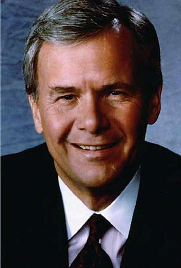 NBC anchor Tom Brokaw