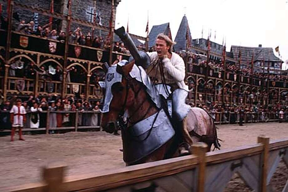 Heath Ledger portrays a low-born 14th century Englishman who goes lance-to-lance against nobles in knightly competitions.
