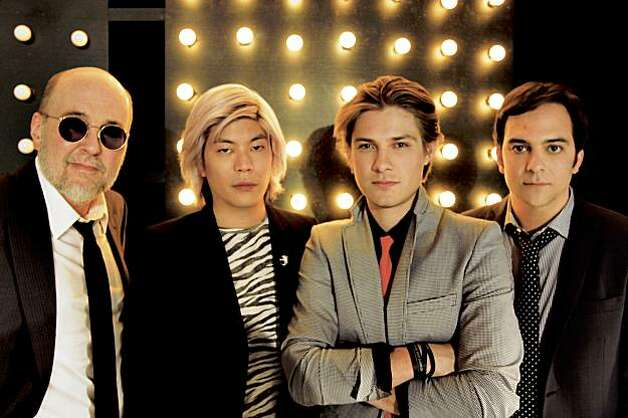 Tinted Windows comprises (from left) Bun E. Carlos, James Iha, Taylor Hanson and Adam Schlesinger. Photo: Big Hassle