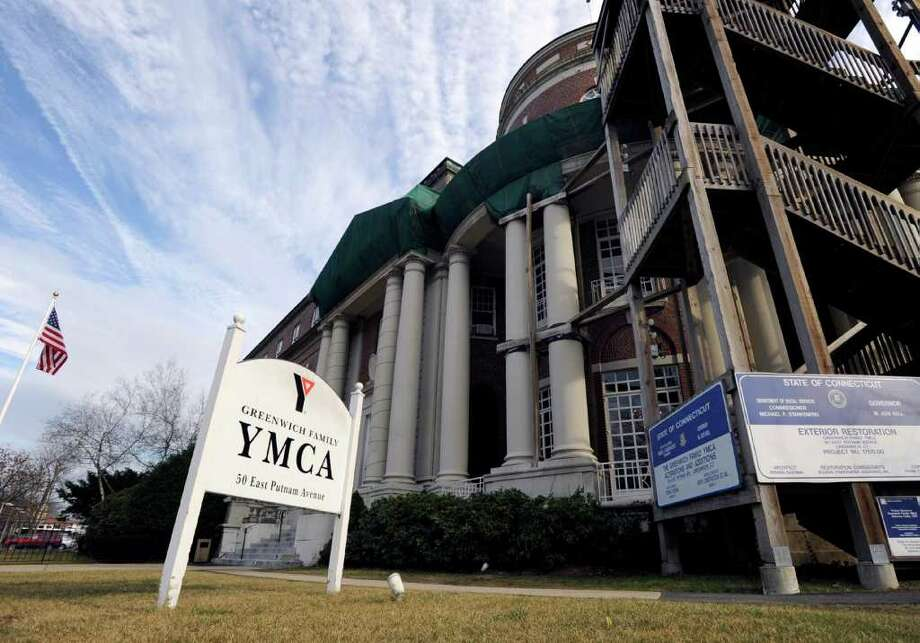 The YMCA of Greenwich at 50 E. Putnam Ave., on Jan. 10, 2012. Photo: Bob Luckey, Greenwich Time File / Greenwich Time