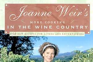 """Cover of """"Joanne Weir's More Cooking in the Wine Country"""" cookbook."""