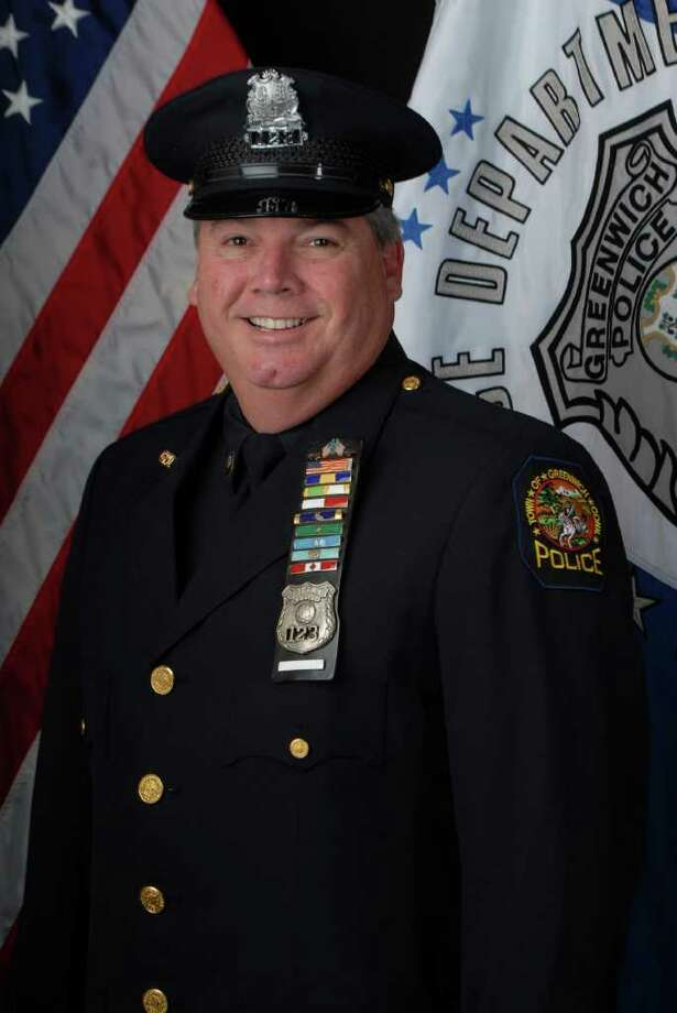 Peter Silbereisen is one of two Greenwich police officers who will retire effective Wednesday, Feb. 1, 2012. Photo: Contributed Photo