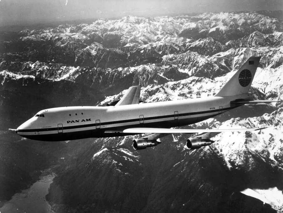 Pan Am was the first customer to get a Boeing 747, taking delivery on Dec. 12, 1969. Photo: Keystone, Getty Images / Hulton Archive