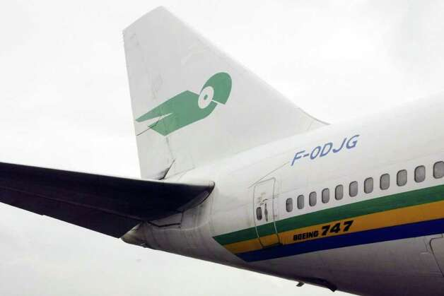 National carrier Air Gabon went bankrupt in 2006. Photo: DESIREY MINKOH, AFP/Getty Images / 2004 AFP