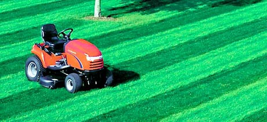 Easy Rider: A lawn tractor, like this Simplicity model, probably isn't needed for a small city lawn. Photo courtesy of Simplicity Manufacturing