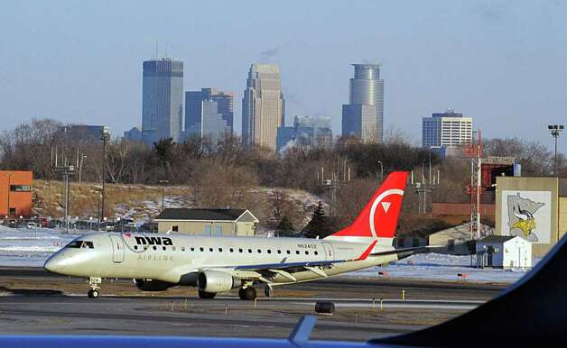 Speaking of airlines with a regional legacy that merged with Delta, Delta acquired Minneapolis-Saint Paul-based Northwest Airlines in 2008. Photo: KAREN BLEIER, AFP/Getty Images / 2009 AFP